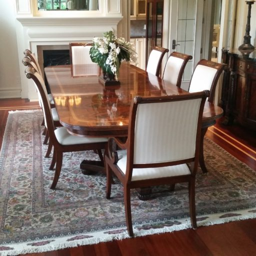 Henredon Dining Room Furniture: Henredon (Natchez) Dining Table And Chairs